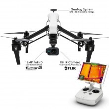 Thermal gimbal for DJI Inspire with 16mp hd camera
