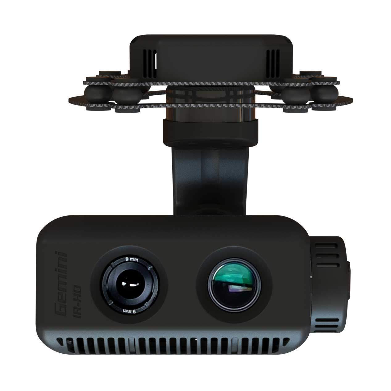 dual sensor ir-eo gimbal for flir camera