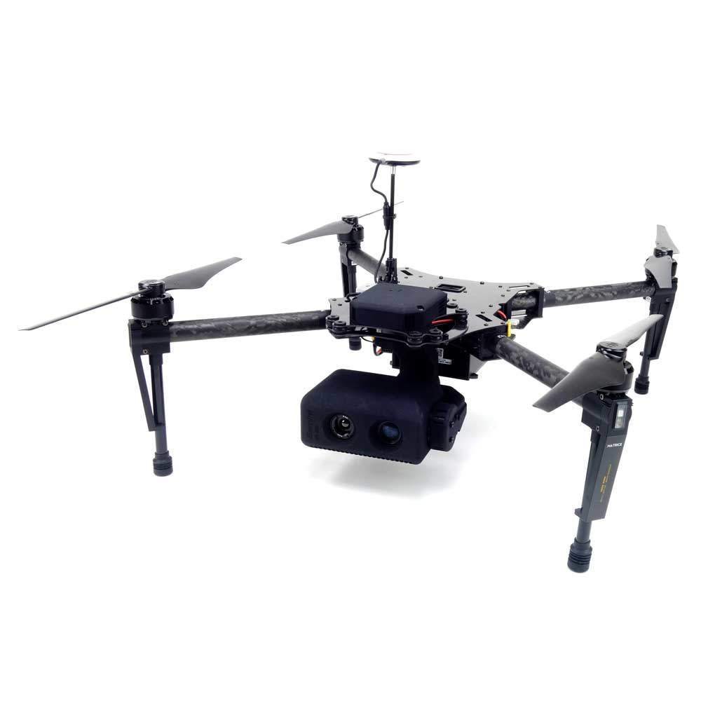 dji matrice 100 flir thermal gimbal