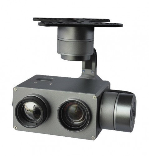 multi sensor ir zoom gimbal for uav