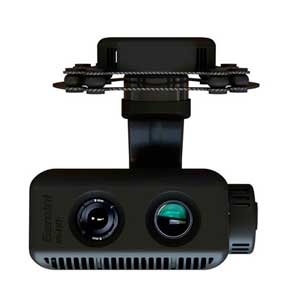gimbal for aerial inspection with flir vue pro and zoom camera