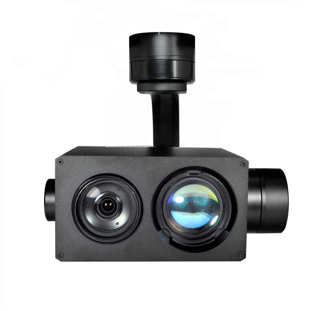 30x zoom gimbal with laser illuminator night vision 500mt