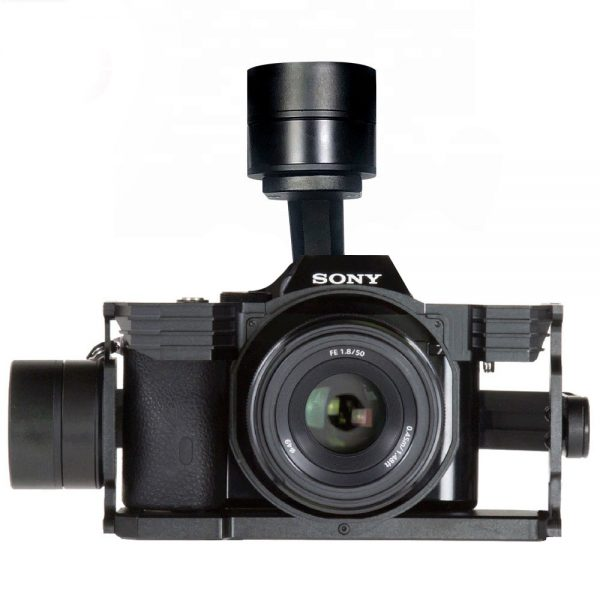 gimbal for sony a7 with hdmi, photo rec zoom control multi port
