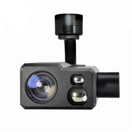 30x zoom camera with laser distometer